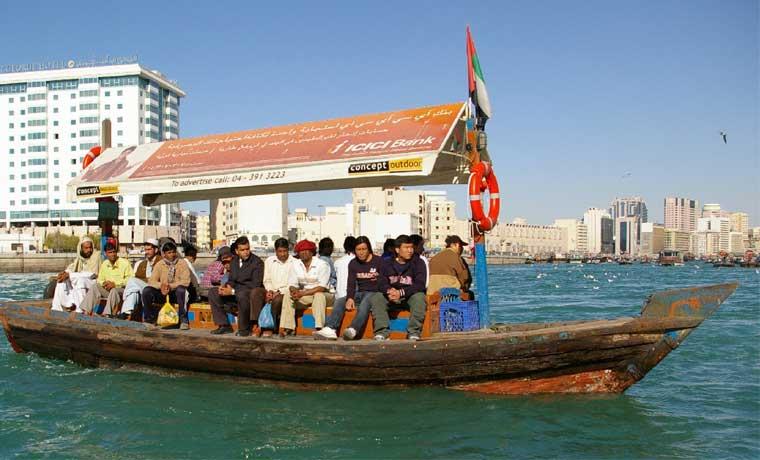 حمل و نقل آبی در دبی