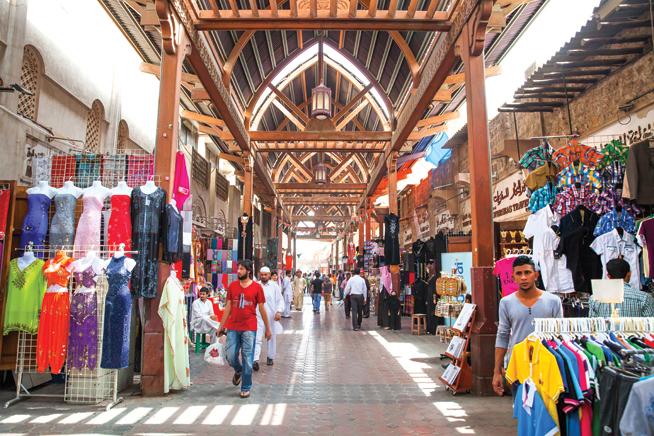 بازار پارچه دبی