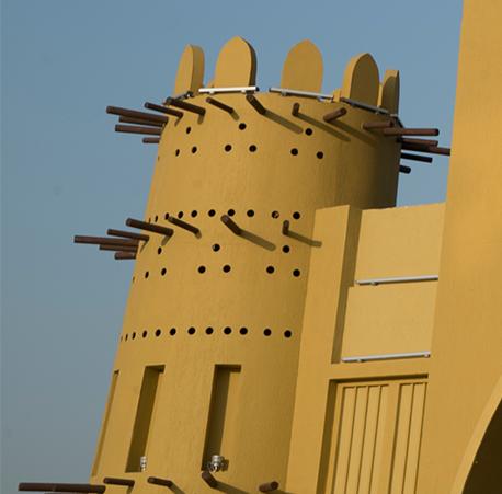 غرفه قطر در دهکده جهانی دبی