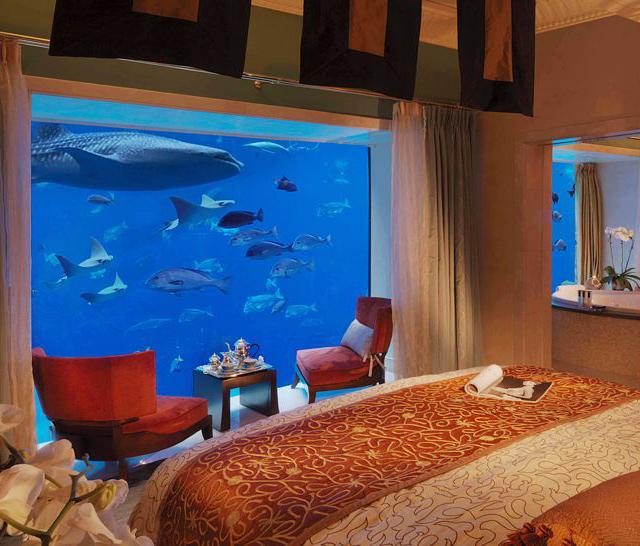 سوئیت زیر آب هتل آتلانتیس دبی