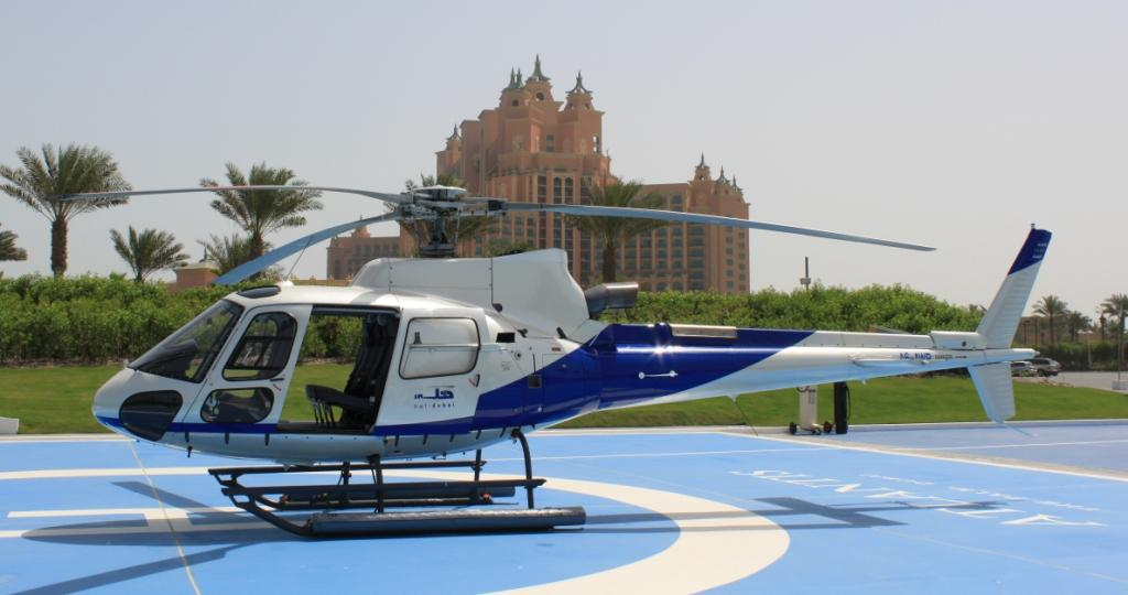تور هلیکوپتر هتل آتلانتیس