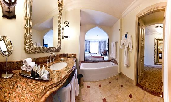 اتاق های مهمان هتل آتلانتیس دبی