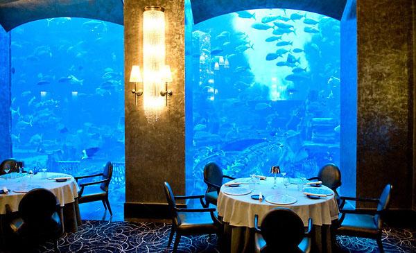 رستوران های هتل آتلانتیس دبی