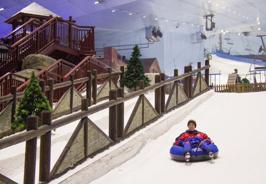 تور دبی : اسکی ، یک روز کامل