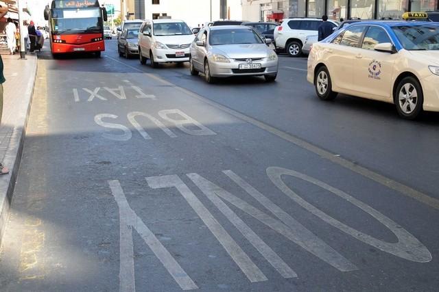 خط ویژه اتوبوس و تاکسی دبی