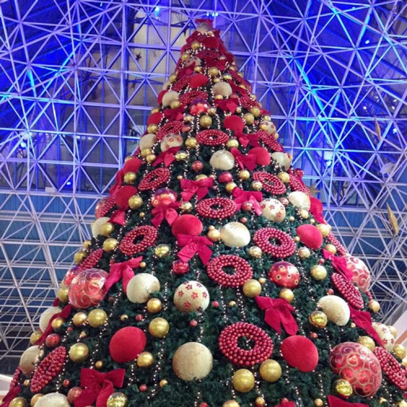 سال نو در مراکز خرید دبی