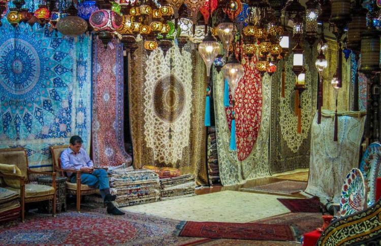 رش و تابلو فرش های ایرانی