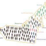 جمعیت و ملیت های دبی