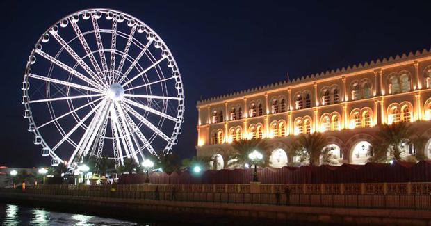 چرخ فلک شارجه - چشم امارات