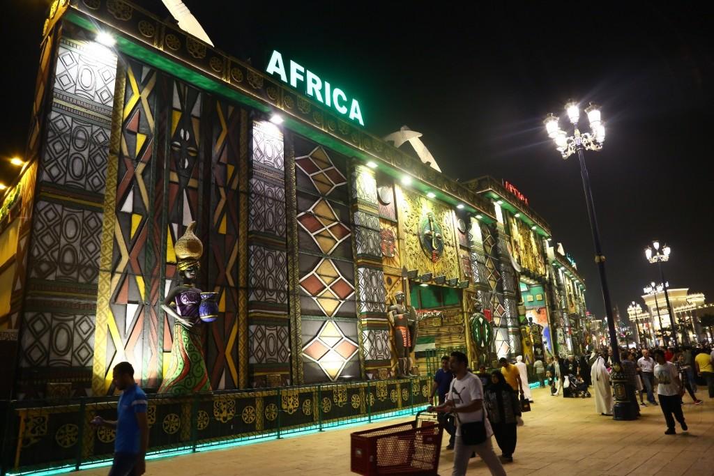 غرفه آفریقا در گلوبال ویلیج