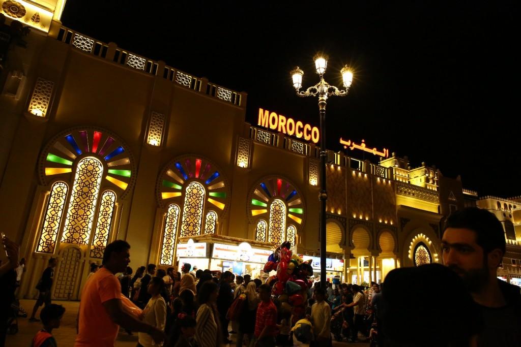 غرفه مراکش در دهکده جهانی