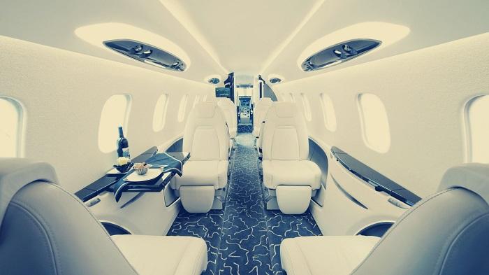 نمایشگاه فضای داخلی هواپیما دبی