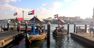 قایق های ابرا در خور دبی