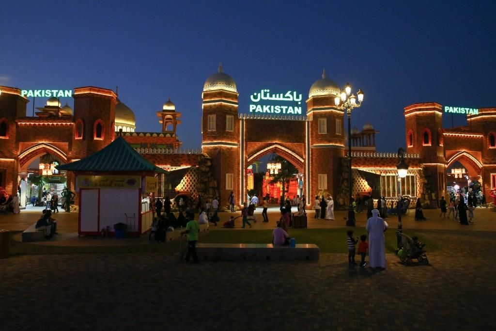 غرفه پاکستان در دهکده گلوبال ویلیج