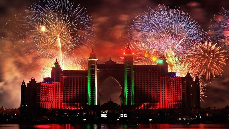 مراسم جشن سال نو دبی