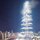 نمایش نور برج خلیفه تا دو ماه دیگر ادامه پیدا میکند