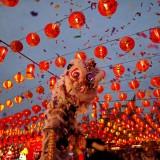 چینی ها شروع سال نو خود را در دبی جشن گرفتند