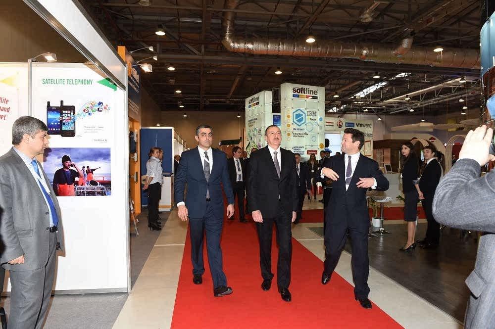 نمایشگاه فناوری اطلاعات و ارتباطات باکو