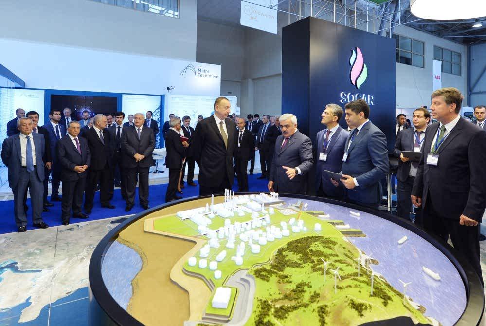 نمایشگاه نفت و گاز باکو