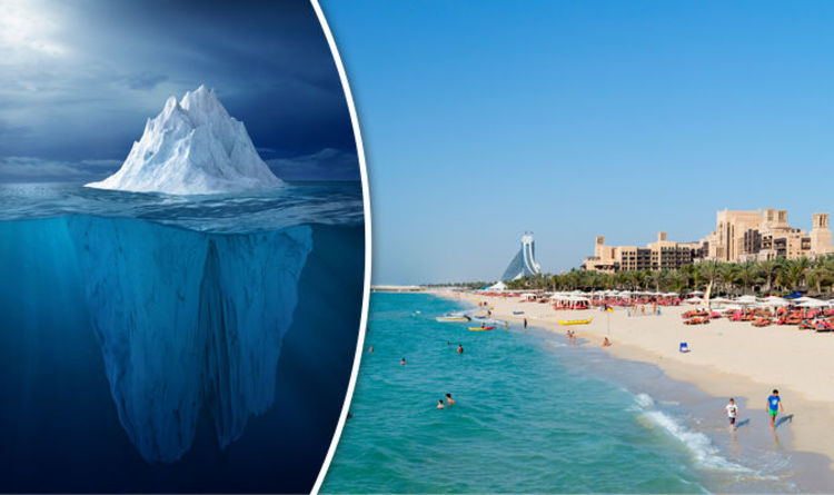 انتقال یخچال های قطب جنوب به دبی
