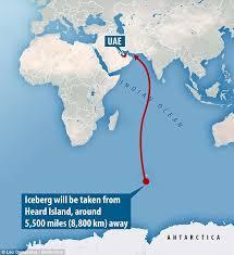 انتقال یخچال های قطب جنوب به دبی1