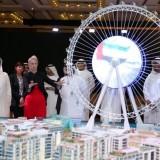 ساخت بزرگترین چرخ فلک دنیا در دبی ، عین دبی