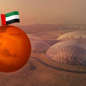 ساخت شهر بر روی مریخ توسط امارات.