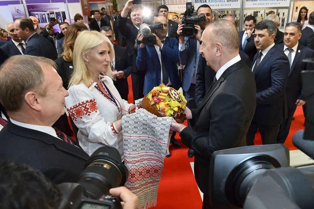 نمایشگاه جهان خوراکی آذربایجان