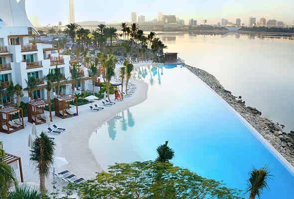 کلابهای ساحلی و استخرهای دبی