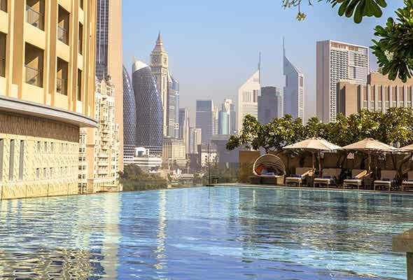 استخر Address Dubai Mall