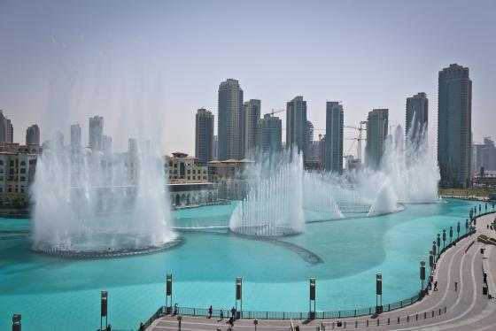 فواره دبی - The Dubai Fountains - بیسان گشت